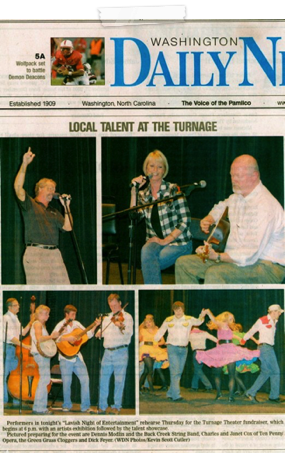 2009 Turnage Theater Performance